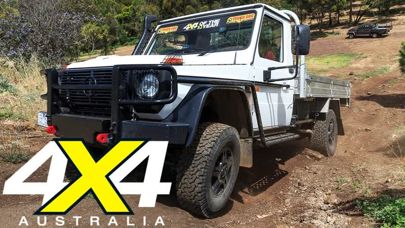 Mercedes Benz G Professional G300 2017 4x4 of the Year Contender 4X4 Australia 1080p 25fps H264 128kbit AAC