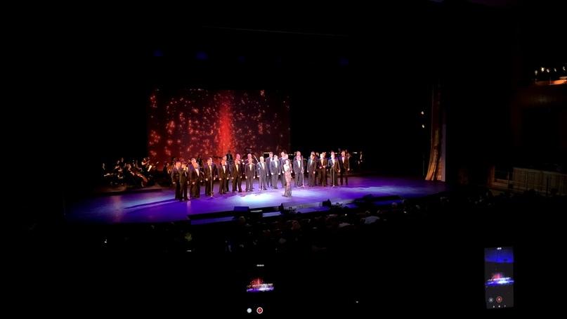Центральный пограничный ансамбль ФСБ России выступил с новогодним концертом в Москве