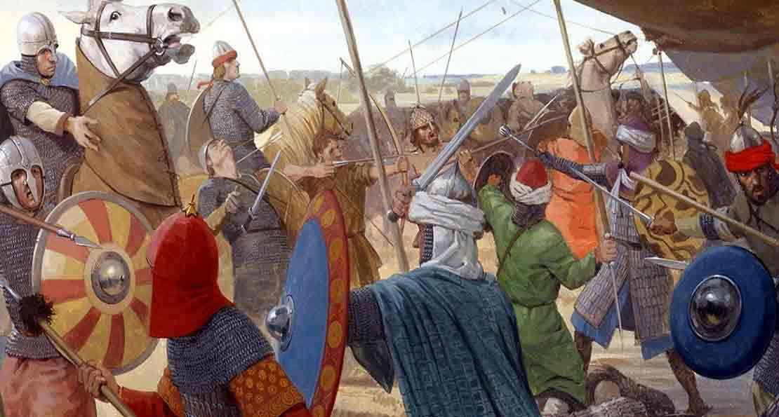 Арабы в бою