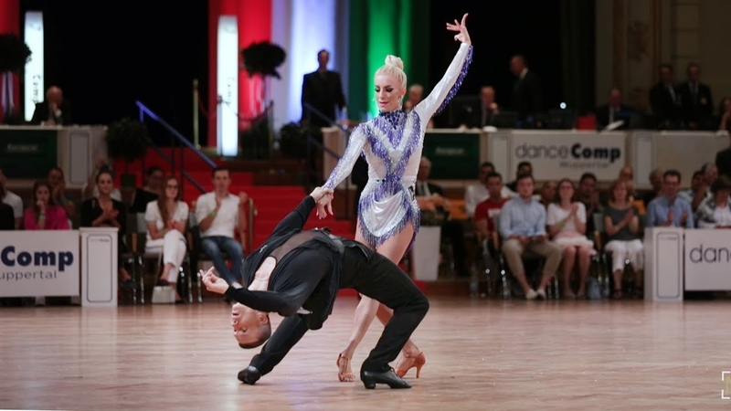 Artur Balandin Anna Salita GER danceComp 2019 Wuppertal WDSF WO LAT solo Jive