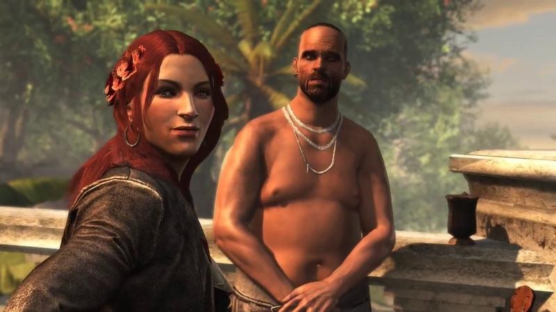 Final de Assassin's Creed Black Flag Edward Kenway conoce a su hija Jennifer Scott