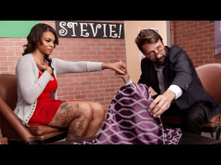 Halle Hayes - Hide The Pickle [Brazzers] Big Tits Ass Ebony Toys Dildo Blowjob Doggystyle Reverse Cowgirl Facial Porn Порно