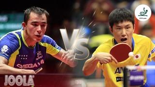 FULL MATCH - Hugo Calderano vs Tomokazu Harimoto | 2018 Qatar Open