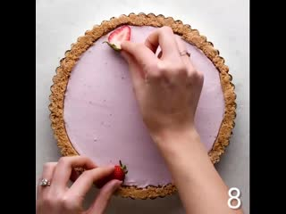 Turn your tart into a work of art with these creative tricks! #x1f3a8;#x1f967;