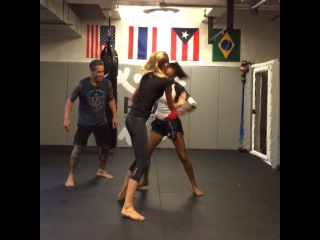 GracieCarvalho on Instagram:  Trying to get Romee lol hard one to get @romeestrijd  thanks for the class Mama it was amazing @instabutter and thank u to @phytnyc