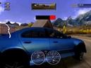 NFS Hot Pursuit 2 (2002) - Police BMW M5 (Дорога в Альпах, зеркало назад)