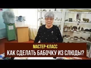 Как сделать бабочку из камней? Самсонова Тамара Григорьевна