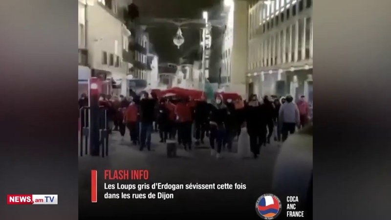 Ֆրանսիայի Դիժոն քաղաքում Գորշ գայլեր խմբավորման անդամները սպառնալիքներ են հնչեցրել հայերի հասցեին