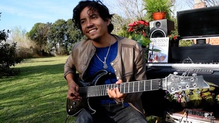 Pink Floyd - Comfortably numb - Amazing performance - Guitar cover by Damian Salazar