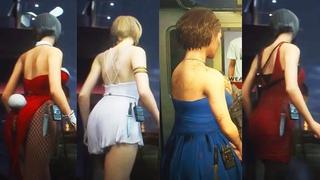 Resident Evil 3 Remake - All Sexy Jill Costumes (Beauty Jill)