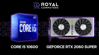 Core i5 10600 / GeForce RTX 2060 Super (Benchmark and Game Test)