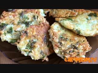 Что приготовить из картошки Картофельные драники с сыром. Рецепт на завтрак
