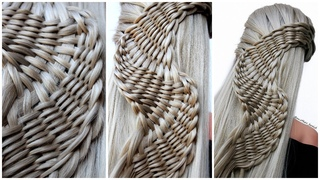😱 NEW UNIQUE HAIRSTYLE for wedding and party || Rope Waterfall Braids | trending hairstyle