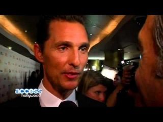 Matthew McConaughey's Dallas Buyers Club Premiere