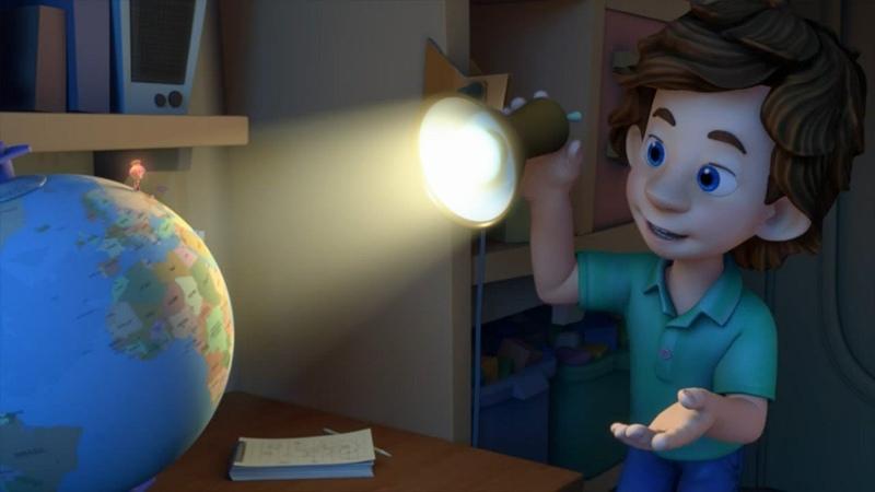Фиксики Глобус Познавательные мультики для детей школьников