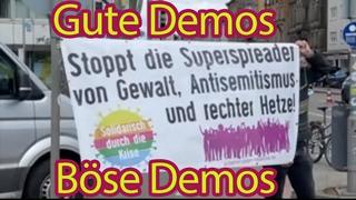 Gute Demo, schlechte Demo: Der Corona-Protest in Stuttgart und die Doppelmoral der Medien