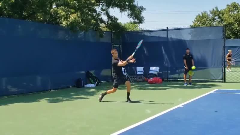 Welcome back to Cincinnati @borna_coric! CincyTennis @TennisNewsTPN