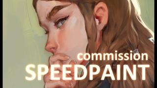 Speedpaint (Paint Tool SAI) Portrait Commission 2019 #1