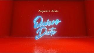 Alejandro Reyes - Quiero Darte (Official Audio)