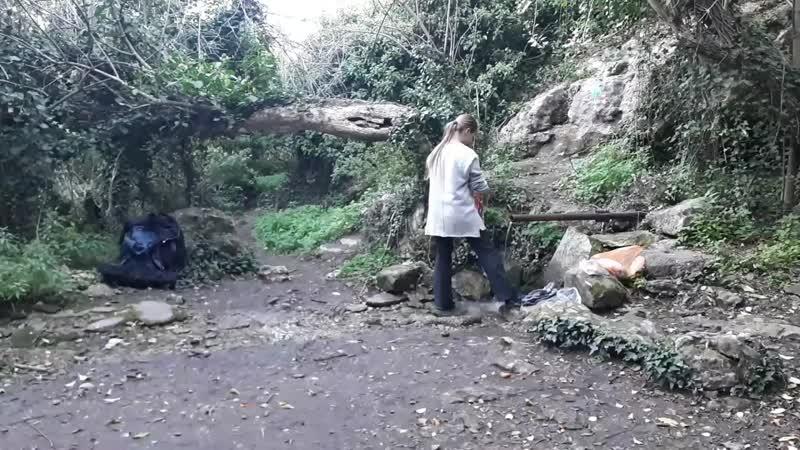 мангупский хоррор с котом