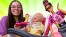 Barbie compra una trona para Martin. La muñeca bebé. Vídeos para niñas.