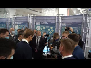 Научные разработки ЮЗГУ на выставке достижений курской промышленности