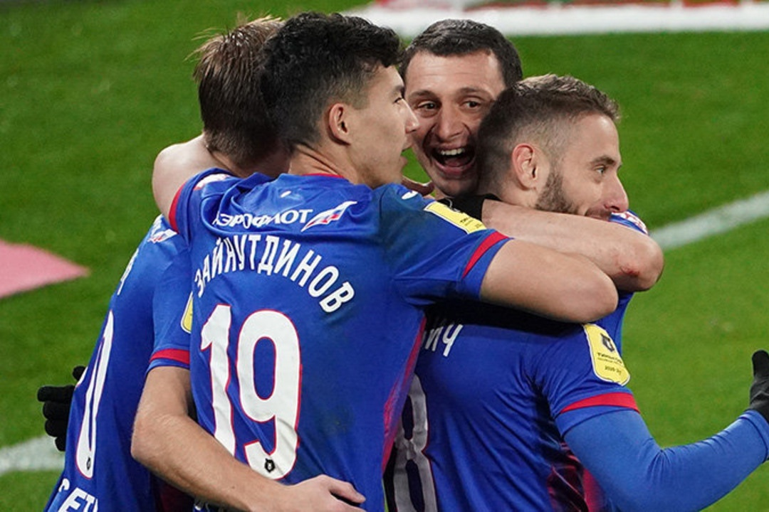 ЦСКА - Арсенал Тула, 5:1