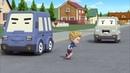 Робокар Поли - Правила дорожного движения серия 20 - Не бегай между машинами