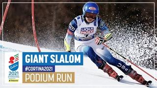 Mikaela Shiffrin | Silver | Women's Giant Slalom | 2021 FIS World Alpine Ski Championships