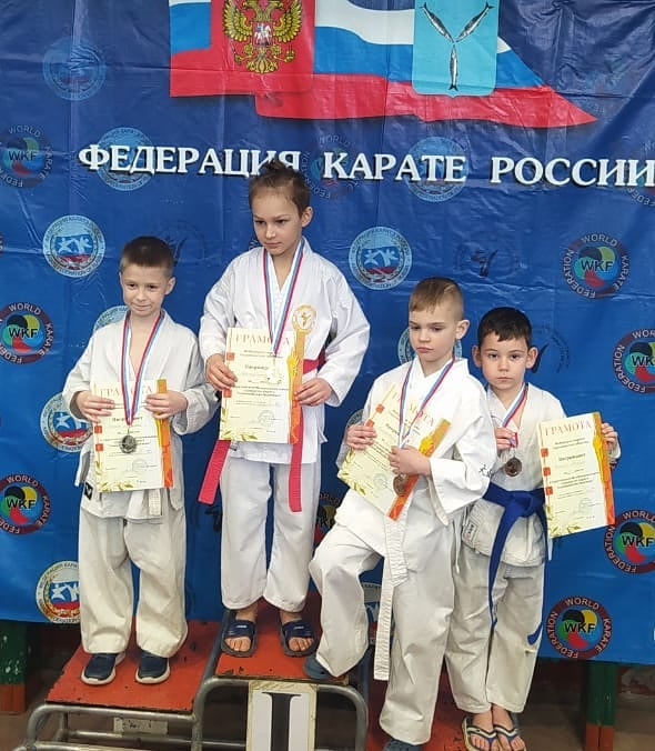 Каратисты из Петровска стали призёрами областного турнира