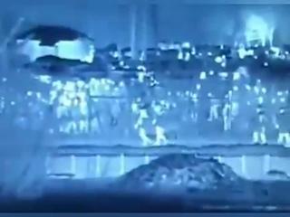 "Greek Activist: — ""Thermal camera, yesterday night on European-Turkish borders"