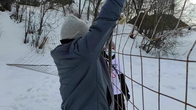 Сергей Митрохин приехал в Митино свалить забор установку которого сам же и поддержал