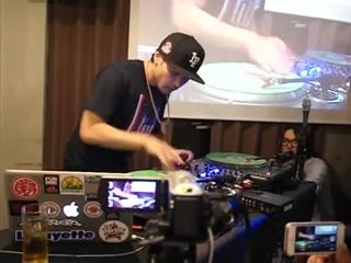 DJ IZOH(威蔵) 東名阪 WORK SHOP 2013 @ cafe DODO in NAGOYA(SKC48)