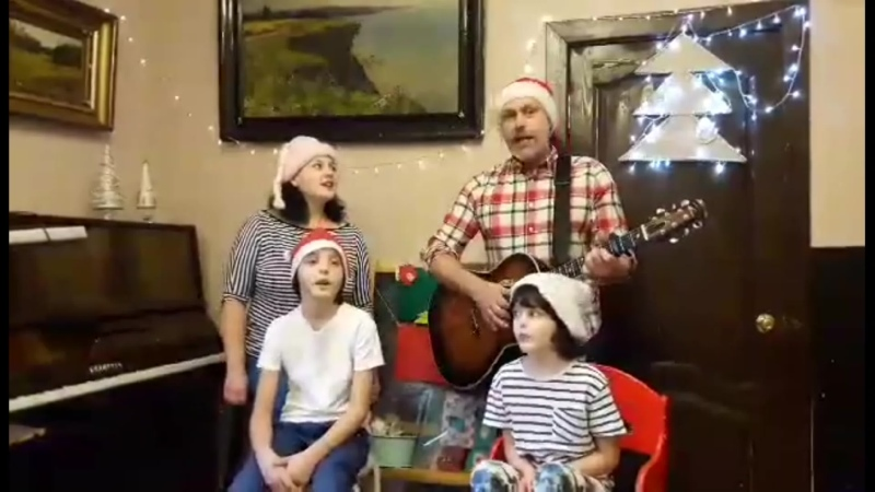 Зміцер Вайцюшкевіч і сям'я На Каляды