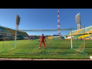 ⚽️ Гол на 6 минуте с пенальти забил Хасан Мамтов.   🔥 «Кубань» 1:0 «Ессентуки»