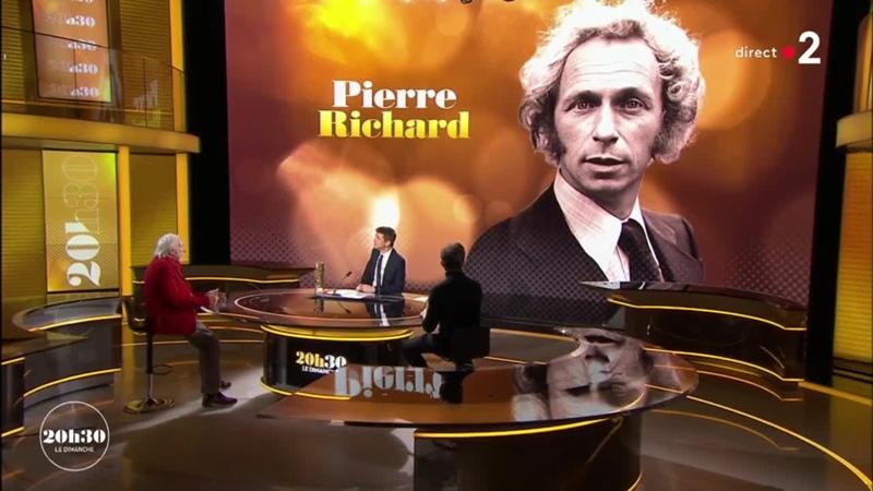 20h30 le dimanche Invite Pierre Richard France 2 28 02 2021