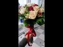 Свадебный букет из роз и фрезии💐