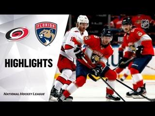 НХЛ — регулярный чемпионат. Матч №49. «Флорида Пантерз» — «Каролина Харрикейнз» — 4:3 ОТ