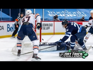 McDavid score's ridiculous goals in Hat Trick against Jets