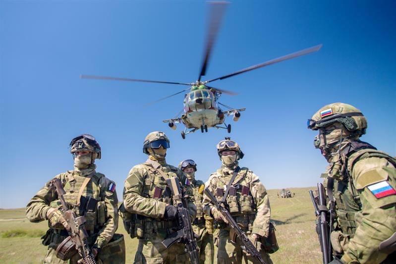 Служба по контракту в отряде специального назначения