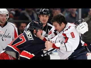 Alex Ovechkin vs Brandon Dubinsky Dec 12, 2010