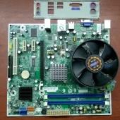 системная плата MSI MS-7525 + E8500 (3.16Ghz)