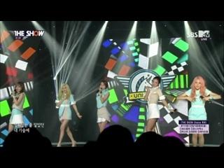 PERFORMANCE: 150915   UNICORN (유니콘) - HUK(헉) @ The Show