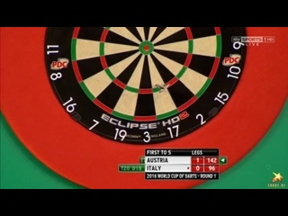 Austria vs Italy (PDC World Cup of Darts 2016 / First Round)