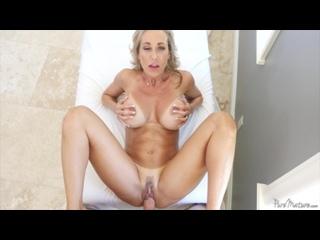 Brandi Love [Студия: PureMature / Жанр: Милфа, Большие сиськи, Хардкор] HD 720p