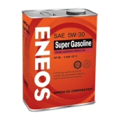 Масло ENEOS SemiSynthetic Super Gasoline SL 5W30 (полусинт.) (4 л)