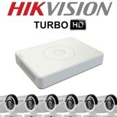 Комплект TurboHD видеонаблюдения Hikvision DS-J142I/DS-7108HGHI-SH