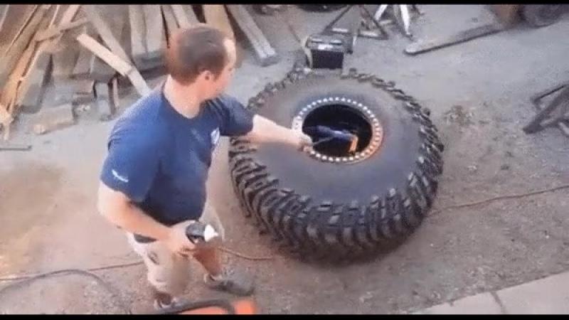 Бортирование колёс
