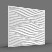 ПОРТУ (волны) 3D панель облицовочная