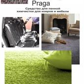 110 PRAGA ( Прага ). Шампунь с замедлителем повторного загрязнения для чистки ковров сухой пеной.